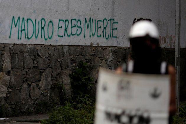 Graffiti that reads