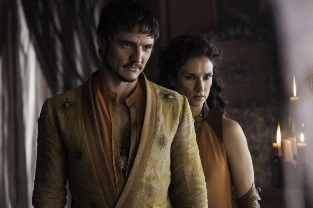 Oberyn Martell and Ellaria, played by Pedro Pascal and Indira