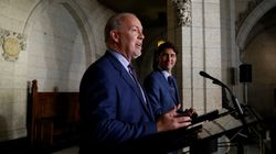 ► B.C. Premier Makes Point After Clumsy 'Spill' Next To