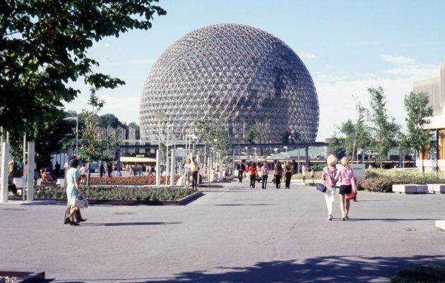 Pavilion of the U.S at the Expo 1967 in Montreal