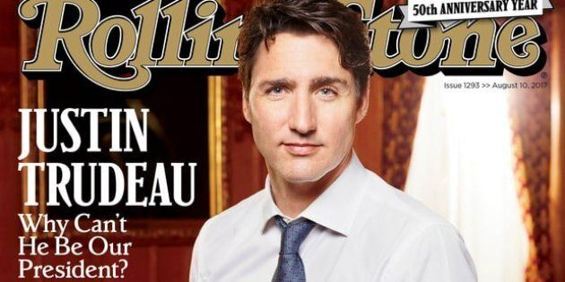 Justin Trudeau Rolling Stone Cover Is Brought To You By Desperate Times In