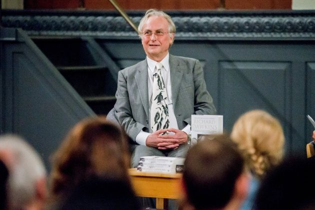 Professor Richard Dawkins talks to Professor Peter Atkins at Oxford University's Sheldonian Theatre on...