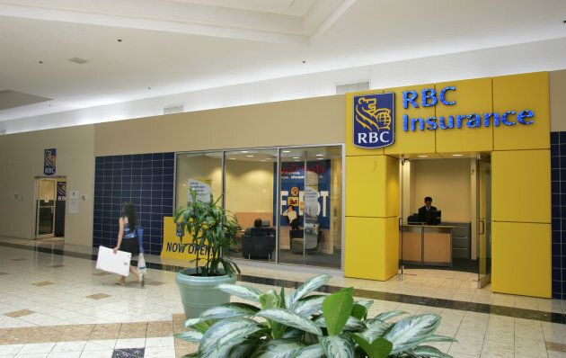 RBC Insurance store in the Woodside Square Mall in Toronto on July 31,