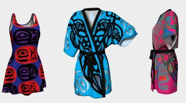Mia Hunt is a Heiltsuk and Metis Cree artist from Bella Bella, B.C. Her designs will be featured at Vancouver Indigenous Fashion Week on July 28.
