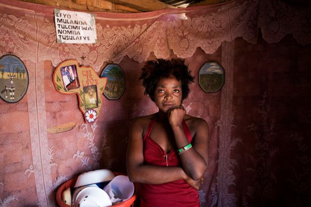 Sibeso Mwangala is a sex worker in Chirundu, a transit point on the border of Zambia and Zimbabwe on...