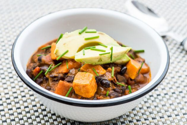 Smoky Black Bean and Sweet Potato Chili.