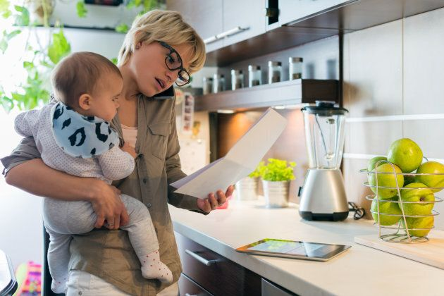Study Finds Moms Work Nearly 100 Hours Per