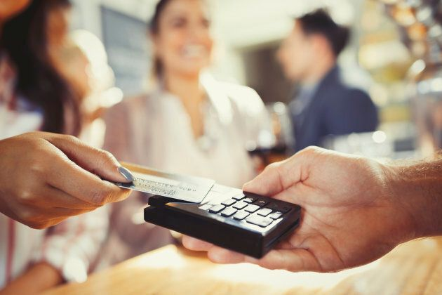 Tap-and-pay technology is spreading rapidly through Canada, according to