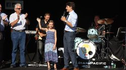 Watch: Ella-Grace Trudeau Upstages Prime Minister Dad At Calgary