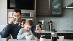 Dads Are More Likely To Feed Their Kids Unhealthy Food Than