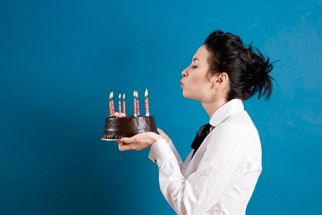 Blowing Out Candles On A Birthday Cake Increases Bacteria On The
