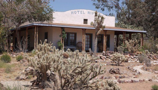 The Nipton Hotel in Nipton, Calif.