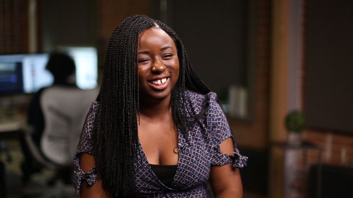 Kharroll-Ann Souffrant speaks to HuffPost Canada in our studio in July 2017. (Photo: HuffPost Canada)