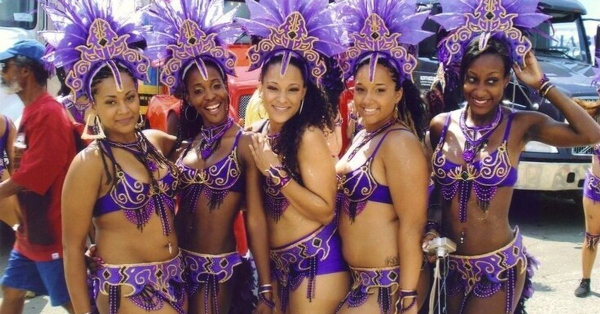 The Blood, Sweat And Tears Of Carnival Costumes | HuffPost
