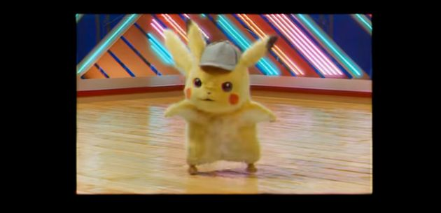 YouTubeに公開された映像で踊りまくるピカチュウ