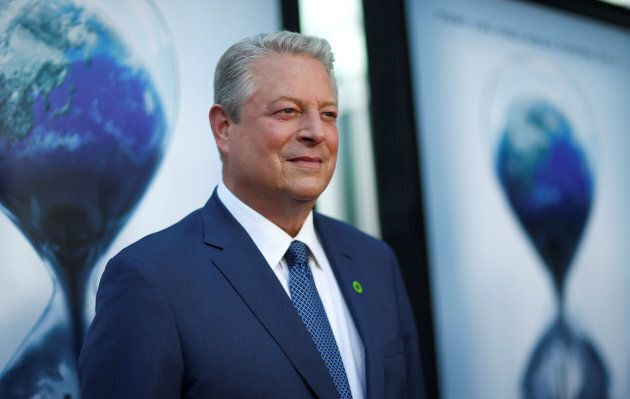 Former U.S. vice-president Al Gore attends a screening for