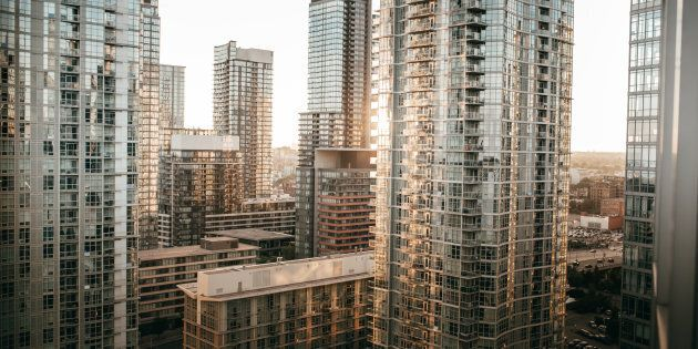 Condos near Toronto's waterfront. A new report from McGill University says a small group of owners are...