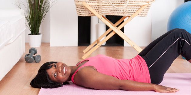 A Simple 'Mummy Tummy' Exercise Could Be A Breakthrough For
