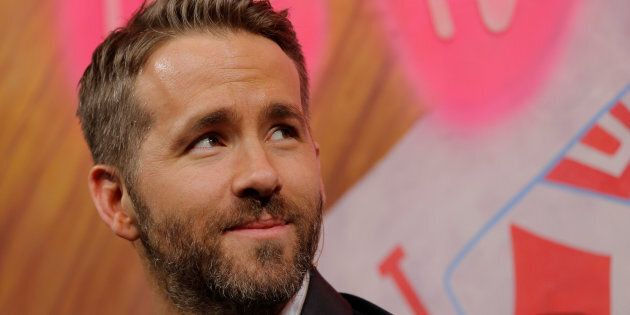 Actor Ryan Reynolds is honored as Hasty Pudding Theatricals Man of the Year at Harvard University in...