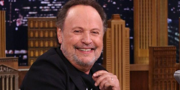 Actor Billy Crystal during an interview on August 8,