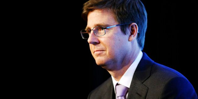 Galen G. Weston, executive chairman of Loblaw Companies Limited speaks at a news conference in Toronto,...