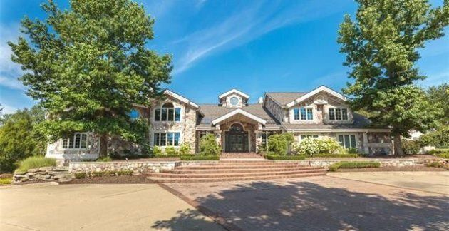 Eminem's house in Rochester Hills, Michigan, is on sale for US$1.99 million. Eminem bought the property in 2003 for $4.75 million.