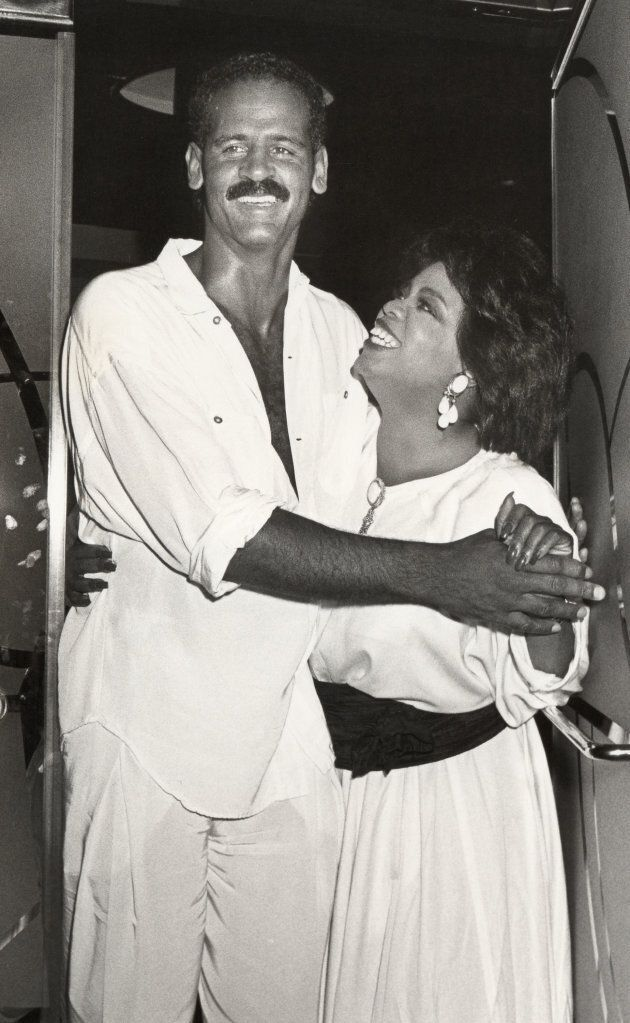 Stedman Graham and Oprah Winfrey, 1987. (Photo by Ron Galella/WireImage)