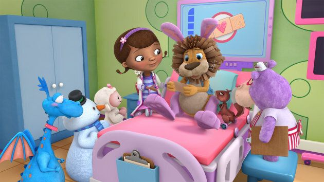 "An episode of ""Doc McStuffins."" (Photo by Disney Junior via Getty Images)"