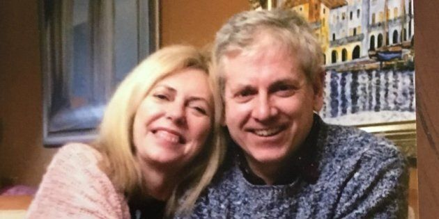 NDP leadership candidate Charlie Angus shared a photo of himself with his sister on Twitter after announcing...