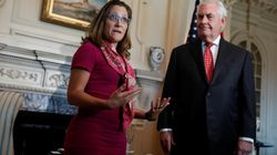 Freeland, Tillerson Condemn Violence And Racism In