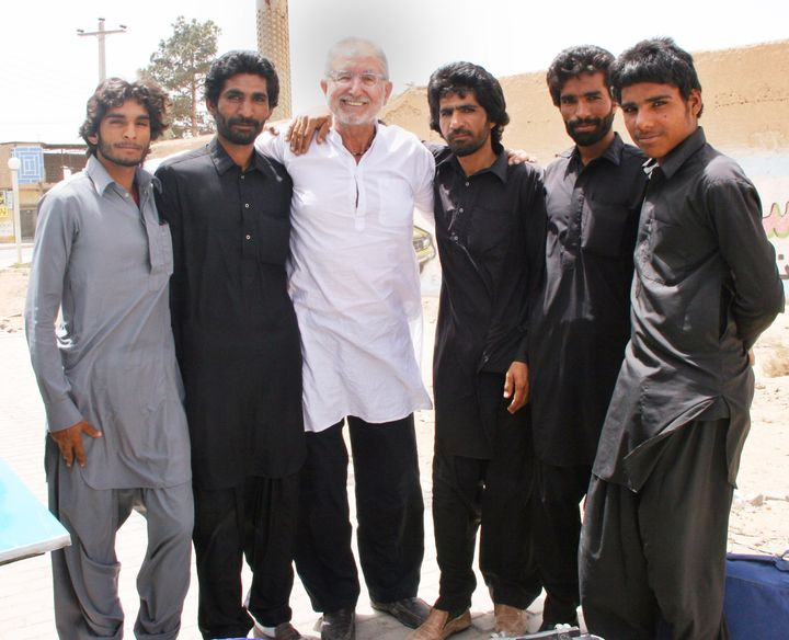 On my recent trip to Iran in 2014,  I met up with and befriended this gang  of brothers from Baluchistan on their way back to Quetta. For various reasons, I was convinced they were  members of Al Qaeda.