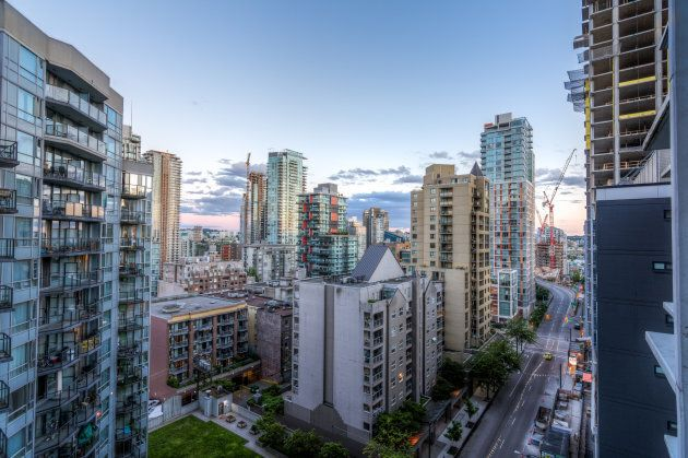 High rises in Vancouver's