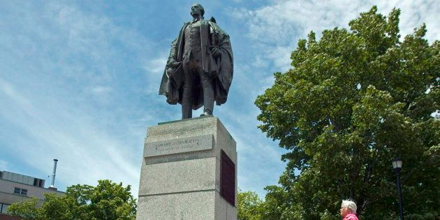 A statue of Edward Cornwallis in a Halifax park is shown in this file image from June 23,