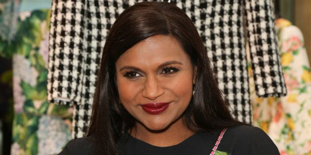 Mindy Kaling attends