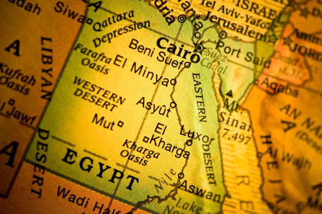 Asyut, the blogger's birthplace, is south of Cairo and is known for its high concentration of Coptic