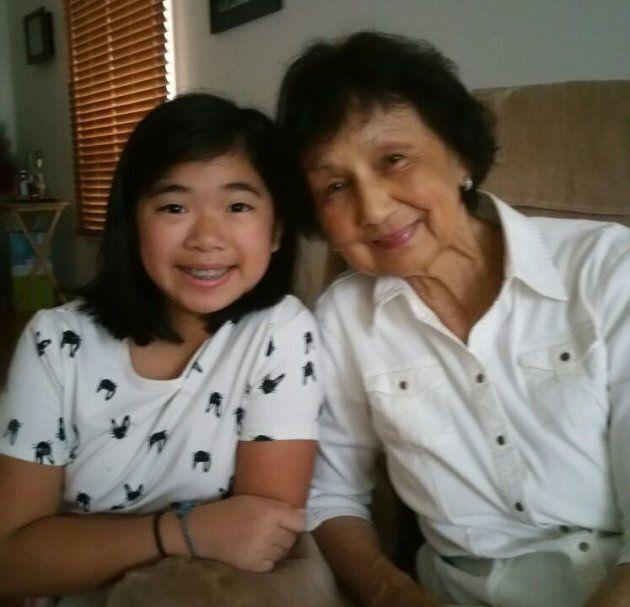 My 13-year-old sister Tara and my paternal