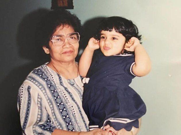 Pradeepan and her paternal