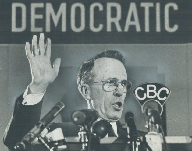 This Canadian leader favoured Nazi-style