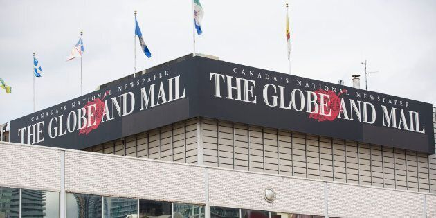 The Globe and Mail office in Toronto is shown on July 9,