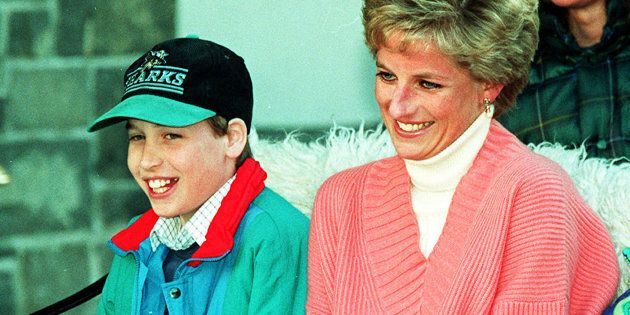Prince William Says He's Proud Of Princess Diana For Opening Up About Her