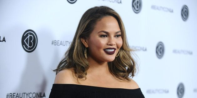 LOS ANGELES, CA - AUGUST 13: Chrissy Teigen attends the 5th annual Beautycon festival at Los Angeles...