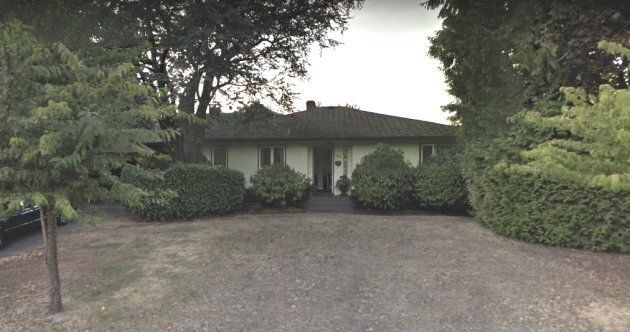 This Vancouver house, seen in a screen capture from Google Street View, is on sale for $11 million.