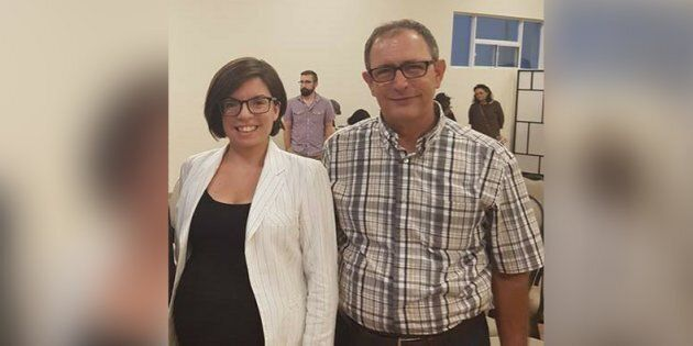 Niki Ashton and Nazih Khatatba at a Mississauga, Ont. fundraiser earlier this