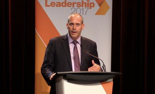 Quebec MP Guy Caron is the lone francophone in the NDP leadership