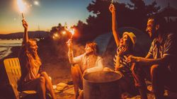 5 Ways To Make A Campfire In The Woods Without
