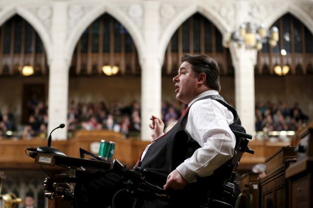 Kent Hehr was shuffled out of Veterans Affairs to take over the Sport and Persons with Disabilities