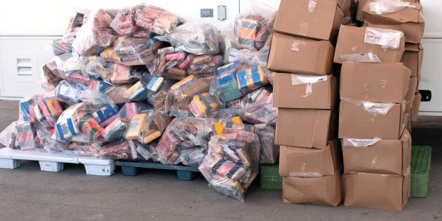 OPP say three Toronto-area men were responsible for allegedly importing more than 1,000 kilograms of...