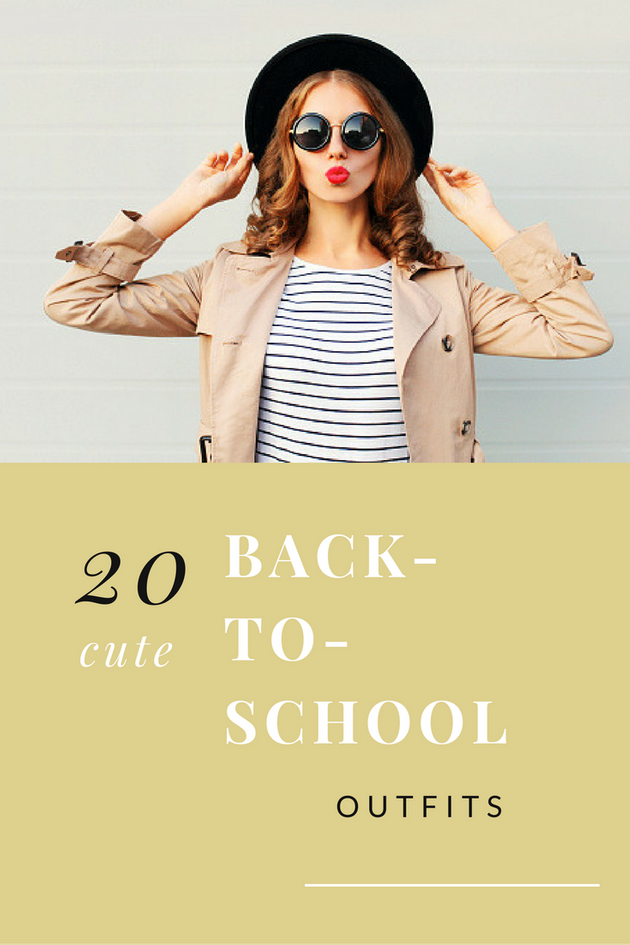 Cute Back-To-School Outfits That Are Major Campus