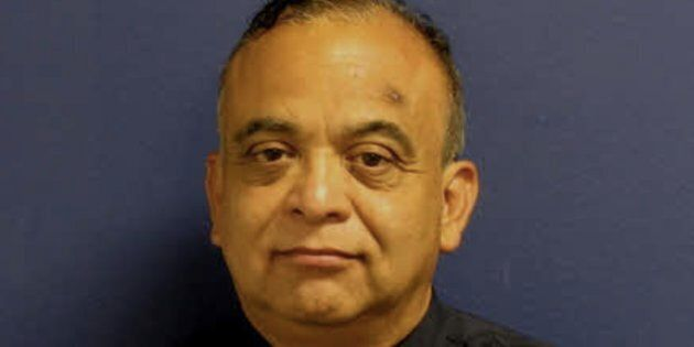 Sgt. Steve Perez died Sunday going to work when he drowned in Hurricane