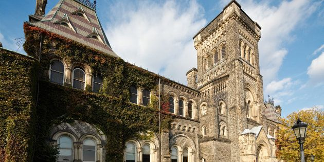A building at the University of Toronto. A new report from CIBC says Canada needs to overhaul its education